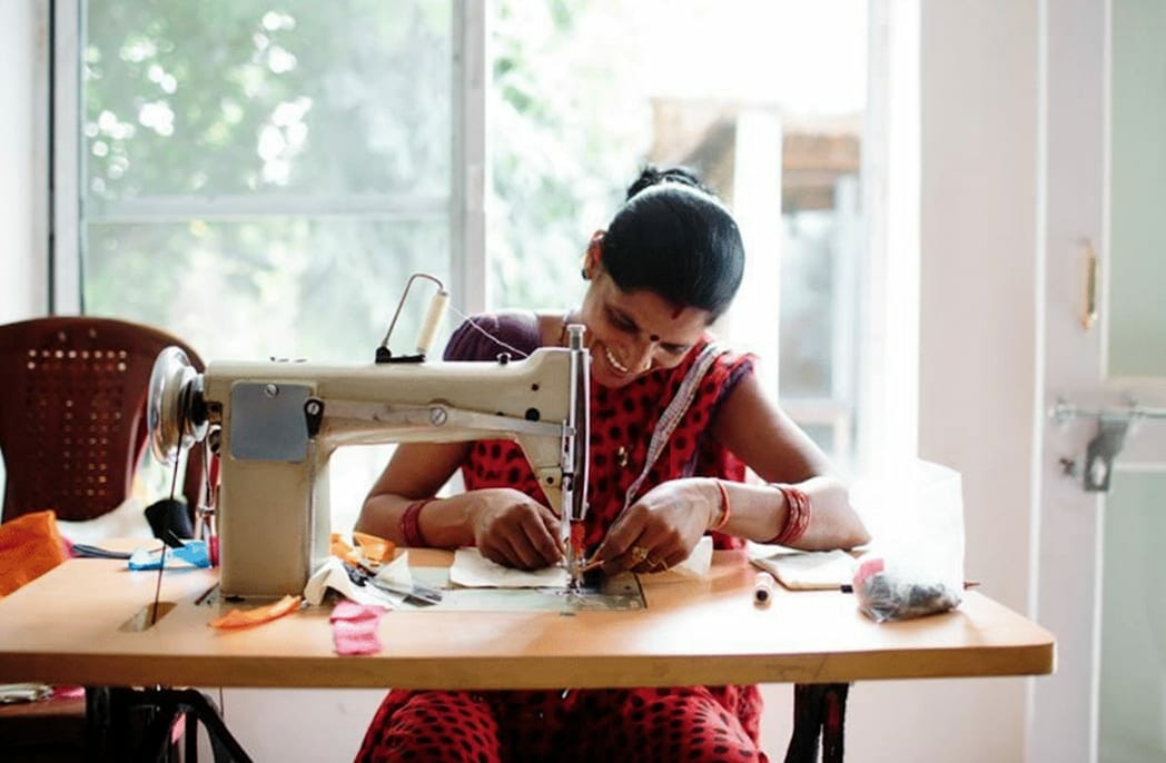 Nomi Network women of cambodia sewing
