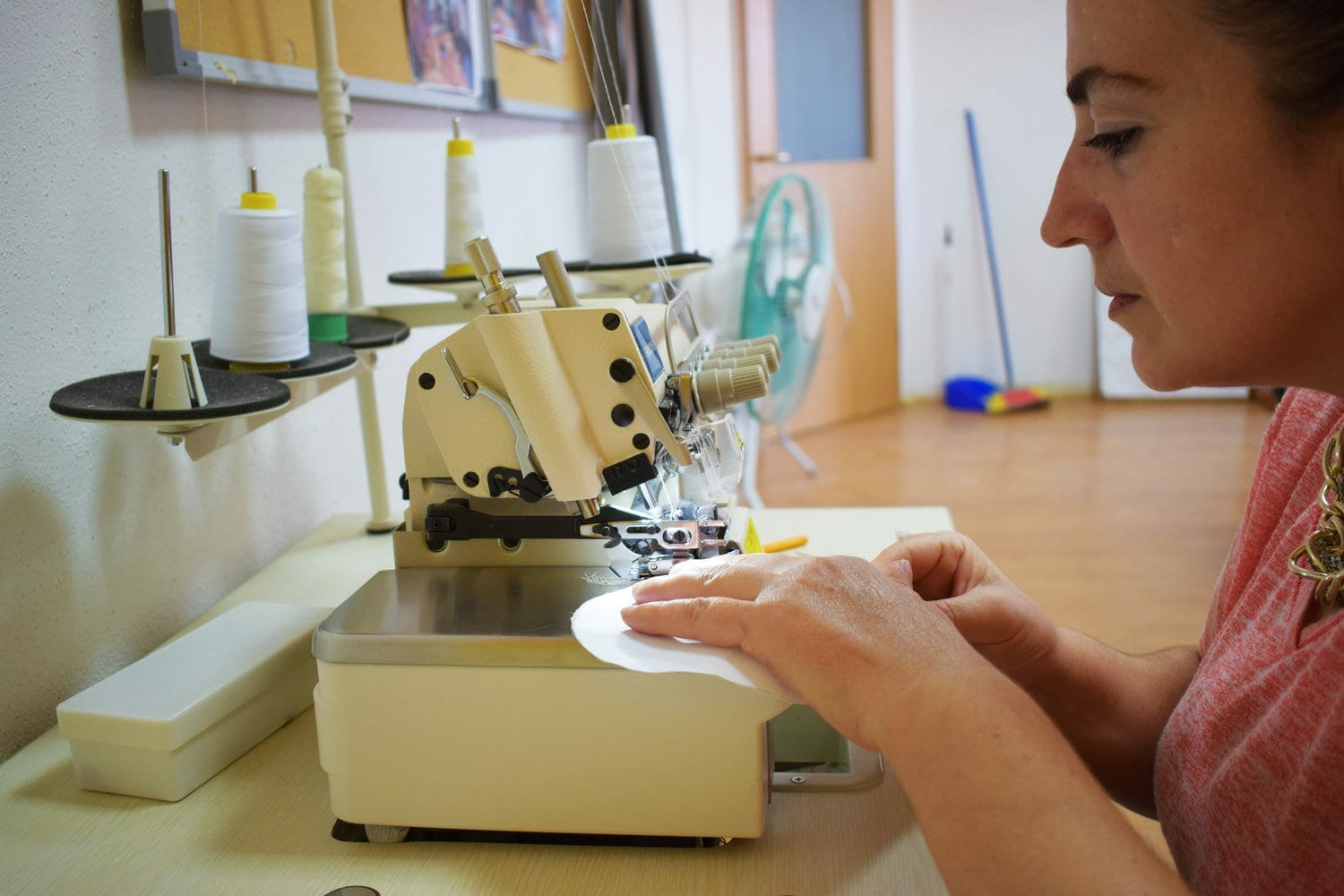 seamstress from women for women international kosovo