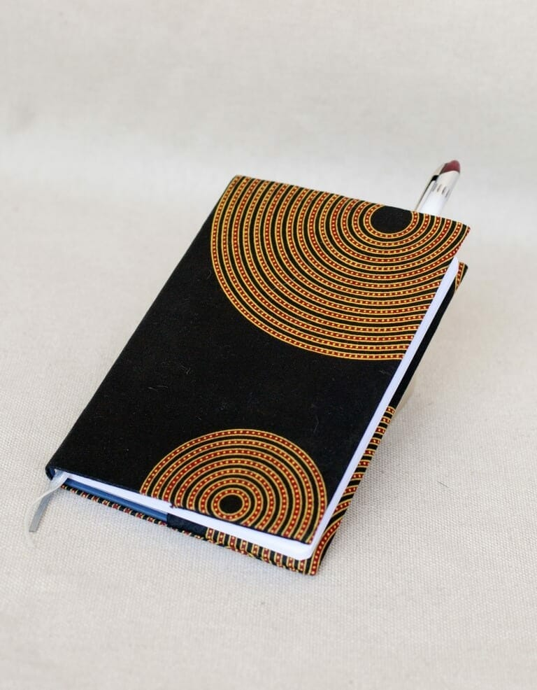 Covered writing journal [Rwanda]
