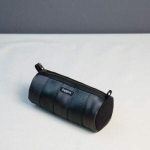 Black essentials tube pouch