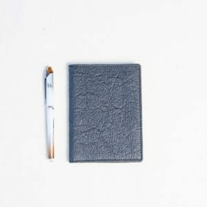 passport holder with pen