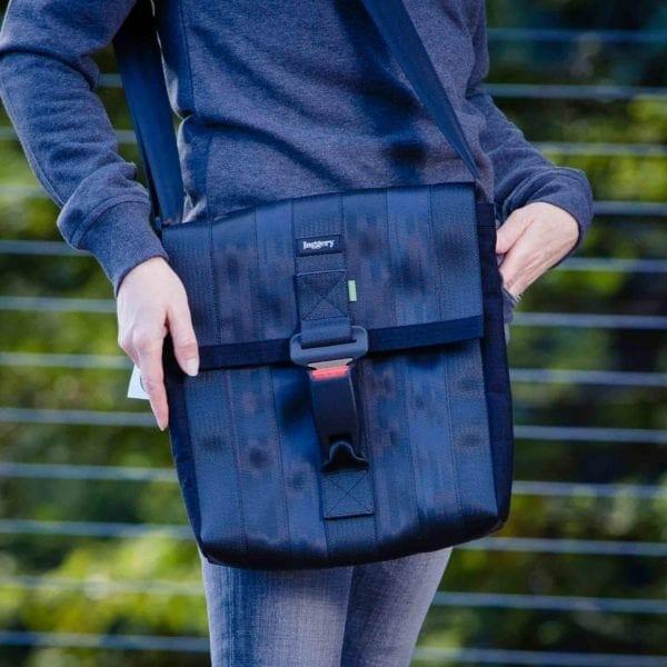 close up freelancers satchel