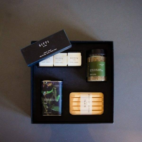 gift box w open soap box