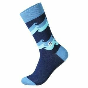 Conscious Step Socks Waves