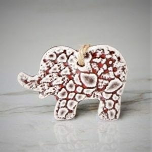 PbP ORN05 Ceramic Elephant US
