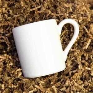 Mug in shipping box