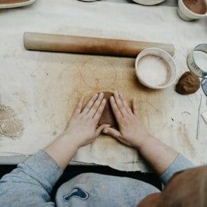 Womans hands